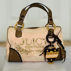 Juicy Couture Satchel Bag Vintage -Pink